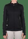 Hardware Vert Lightweight Knit Jacket Black/White