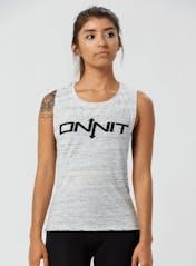 Women's Onnit Type Muscle Tee Hero Image