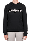 Women's Onnit Type Pullover Hoodie Black/White