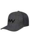 Helix Tech Knit Flexfit Ballcap Charcoal Heather/Black