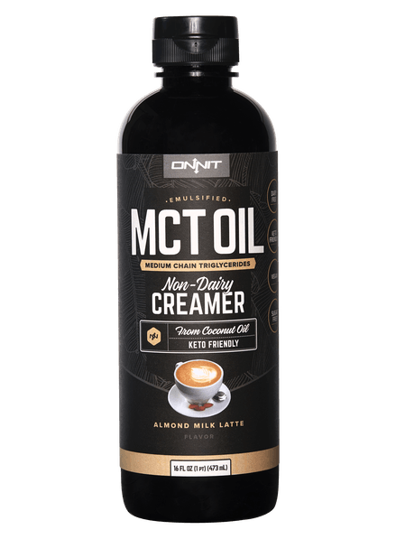 Emulsified MCT Oil - Almond Milk Latte (16oz)