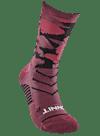 Digital Camo Crew Sock Burgundy