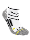 Ankle Sock White/Yellow