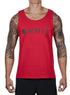 Hardware Contact Tank Top Red/Black