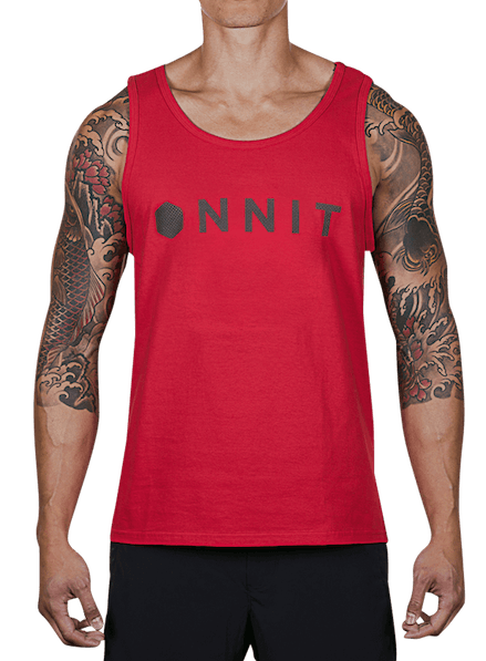 d8a8461b8508b Hardware Contact Tank Top Red Black