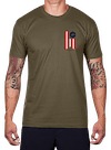 Glory Banner T-Shirt Army Green