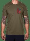 Glory Banner T-Shirt Army Green