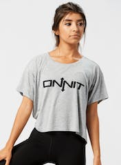 Onnit Type Cropped Tee Hero Image