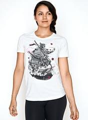 Primal Samurai Women's T-Shirt Hero Image