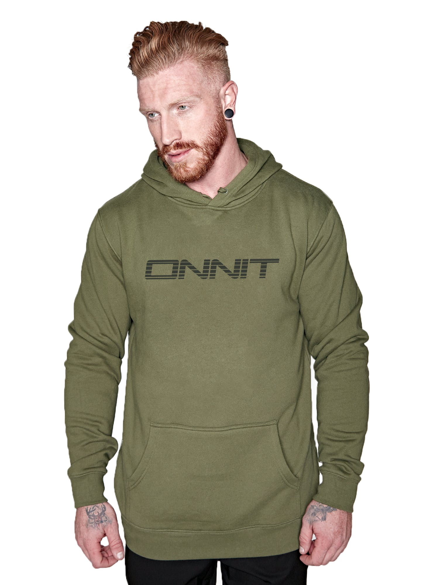 Onnit Linear Pullover Hoodie