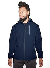 Straight Up Soft Shell Zip Jacket Hero Image