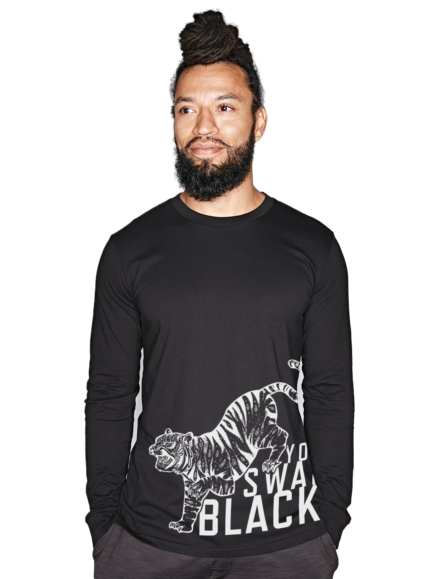 BSY Tiger Crawl Long Sleeve T-Shirt