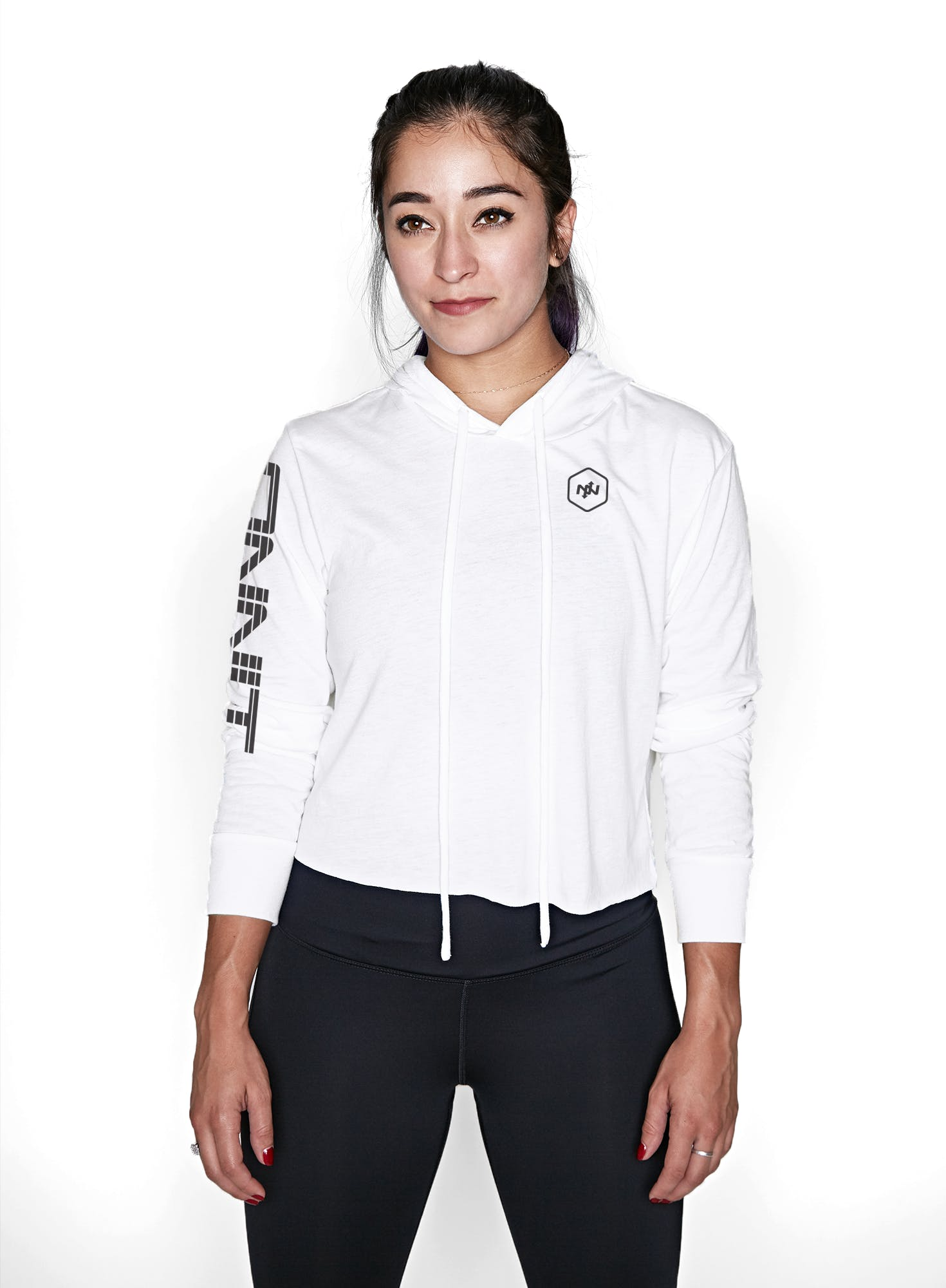 Onnit Linear Cropped Lightweight Hoodie