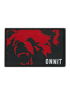 Grizzly Patch Black/Red