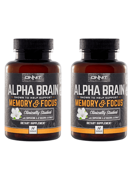 Alpha Brain 14ct Bundle (2x14ct)