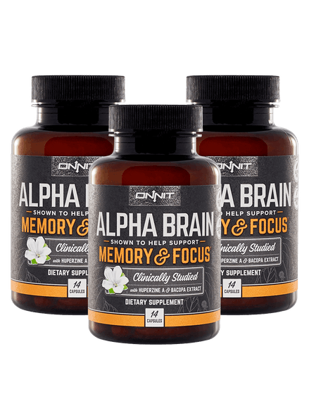 Study Links Dietary Supplement To Brain >> Alpha Brain Nootropic To Improve Brain Function Onnit
