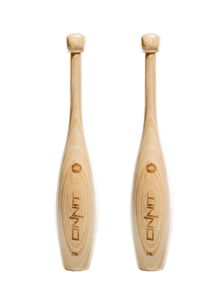 Wooden Indian Clubs