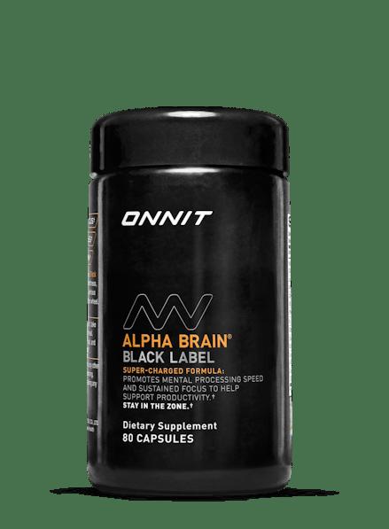 Alpha BRAIN® Black Label Now Available