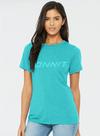 Women's Onnit Tri-Blend T-Shirt Teal/Teal