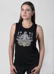Ape Lotus Muscle Tank Hero Image