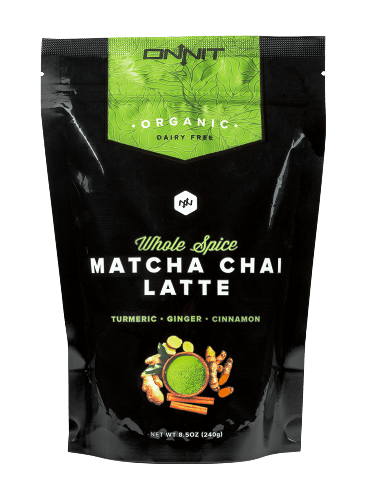 Organic Whole-Spice Matcha Chai Latte