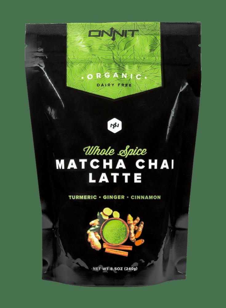 Organic Whole-Spice Matcha Chai Latte