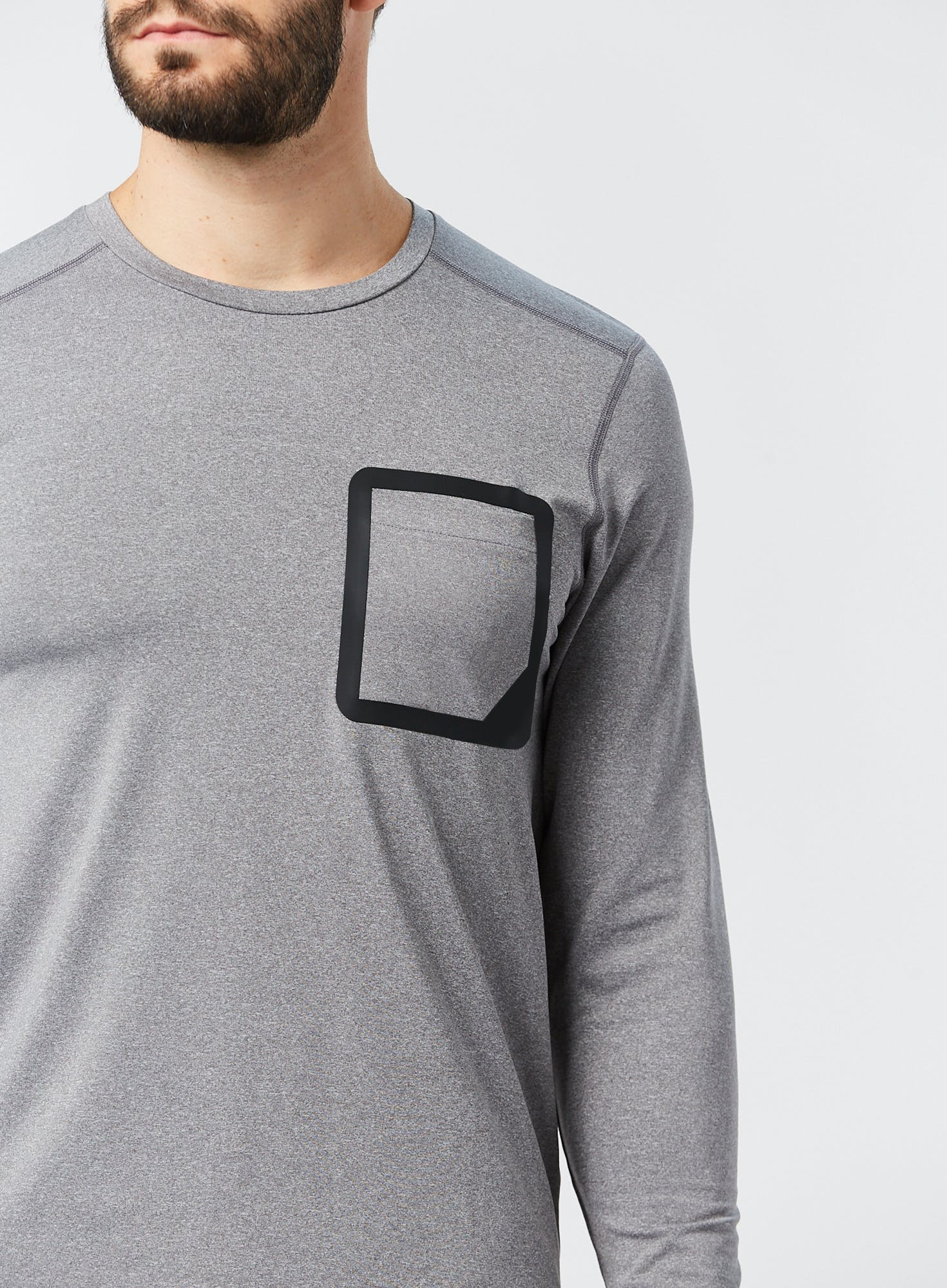 Tech Stretch Long Sleeve Tee Bonus Image