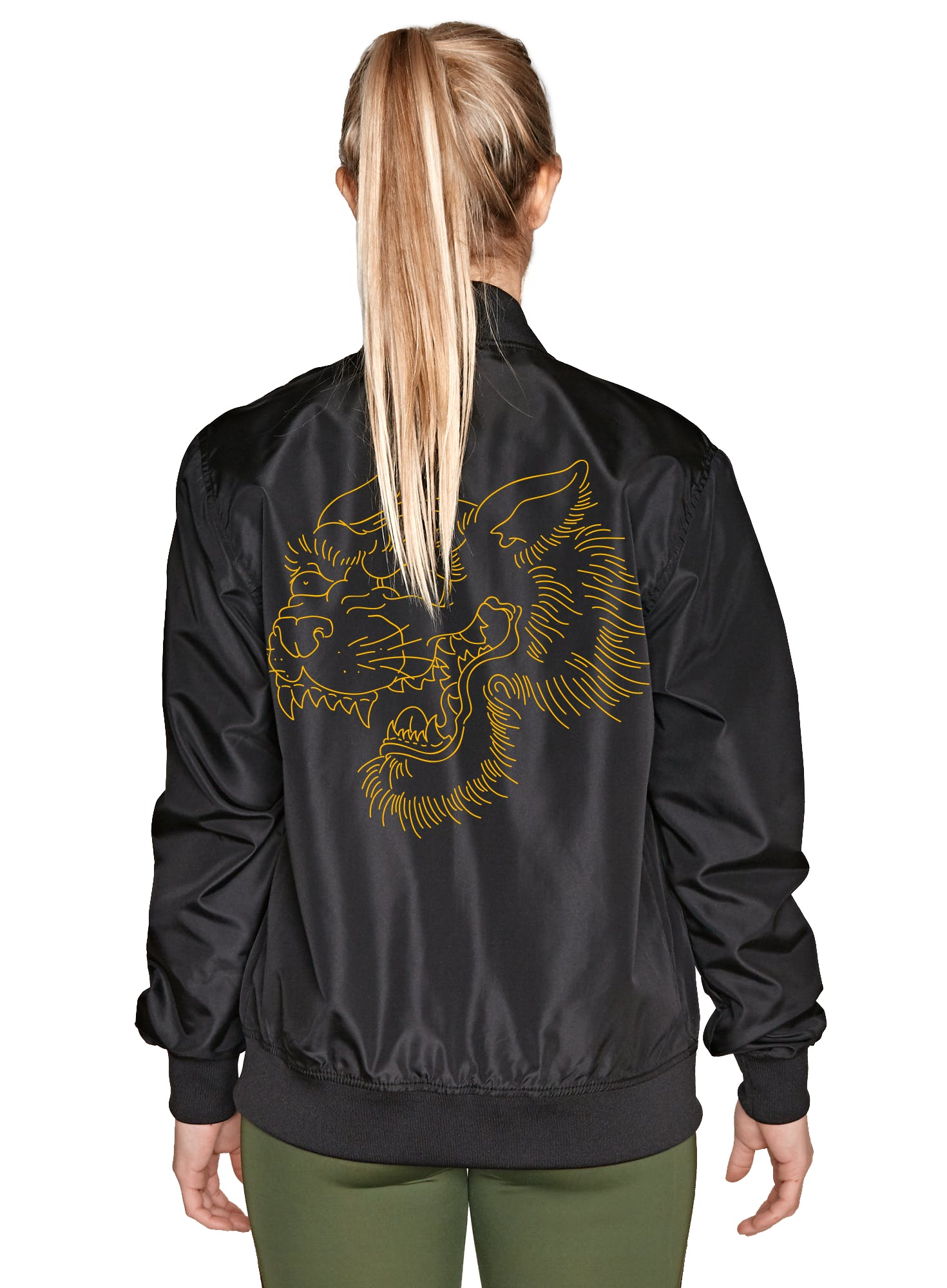 Tiger Charge Bomb Windbreaker Bonus Image