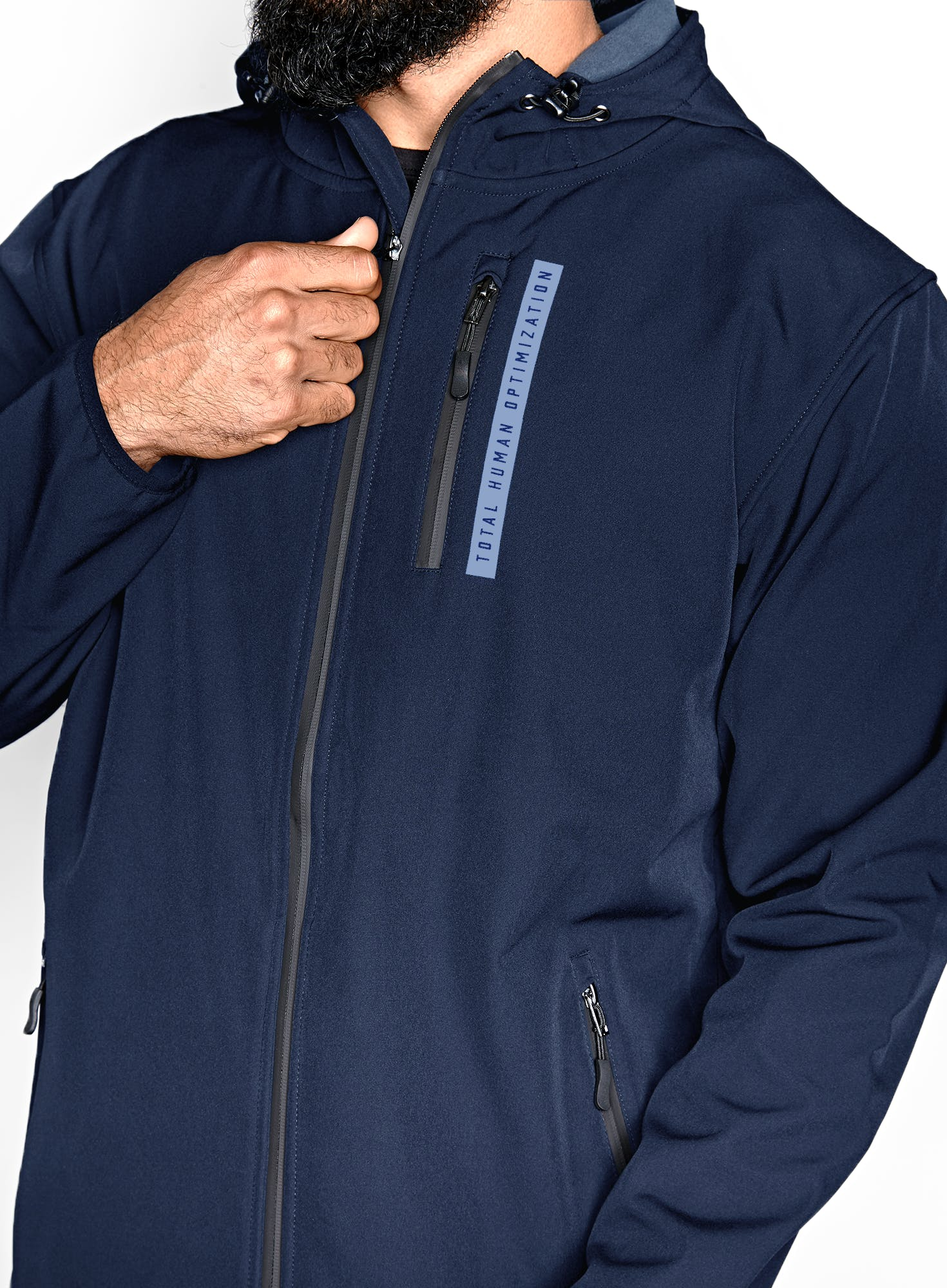 Straight Up Soft Shell Zip Jacket Bonus Image