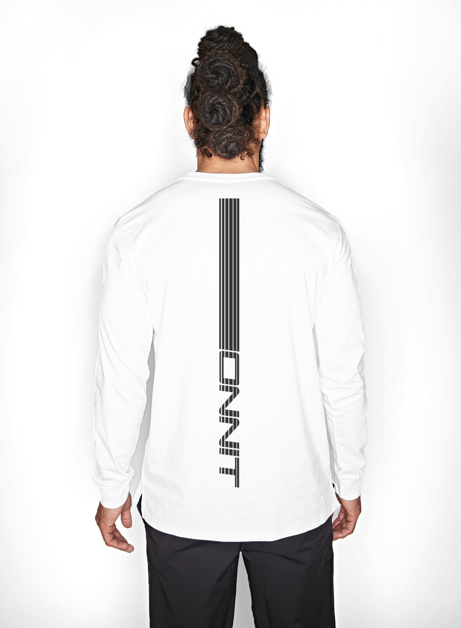 Get Vertical Long Sleeve T-Shirt Bonus Image