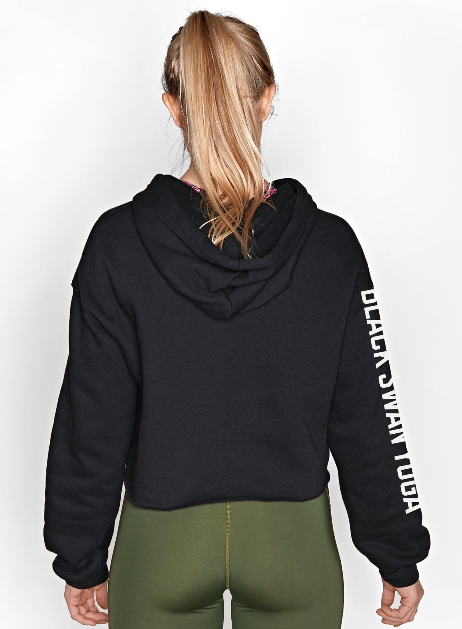 BSY Linear Cropped Hoodie Bonus Image