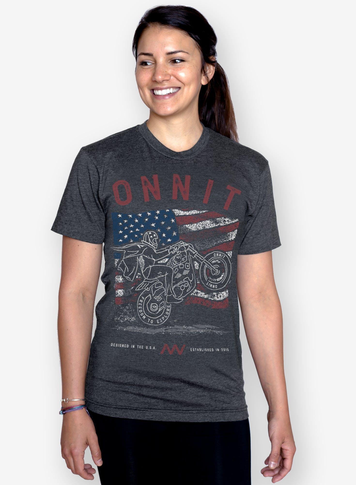 Go 4th and Explore T-Shirt Bonus Image