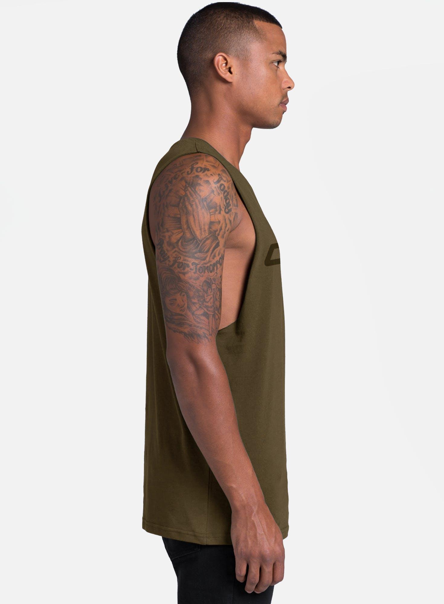 Banded Helix Vert Muscle Tank Bonus Image