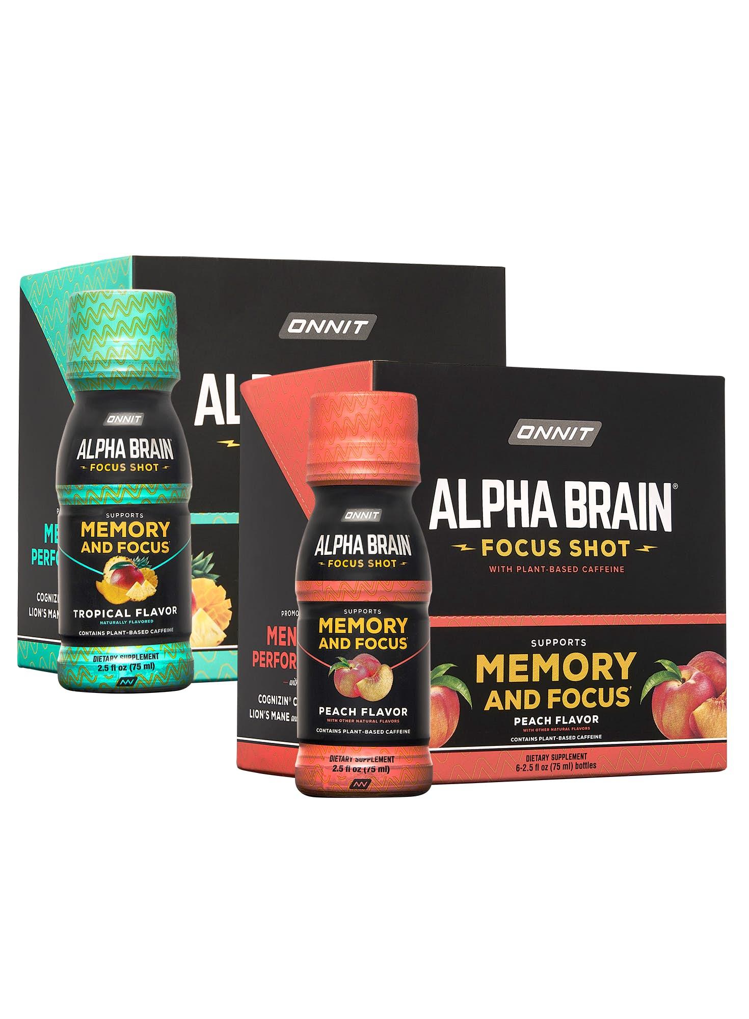 Alpha BRAIN® Focus Shot Now Available
