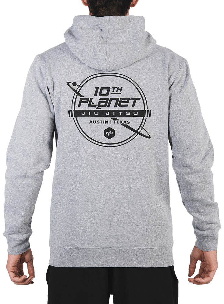 10th Planet Orbit Zip Hoodie Bonus Image