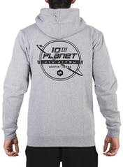 10th Planet Orbit Zip Hoodie Bonus Image