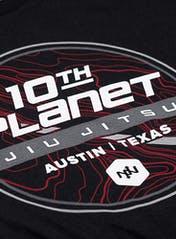 10th Planet Topography T-Shirt Bonus Image