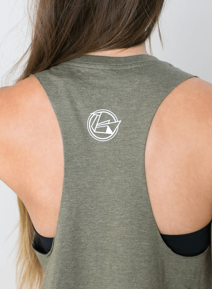 BSY Stack Logo Cropped Racerback