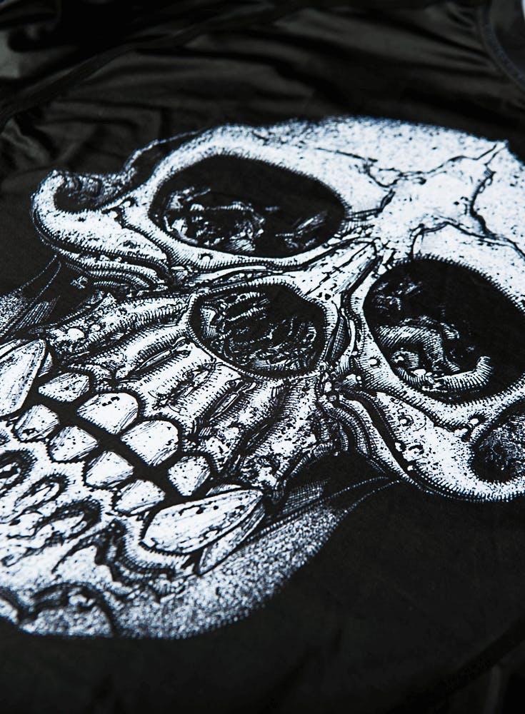 Chimp Skull LS Compression Rashguard Bonus Image
